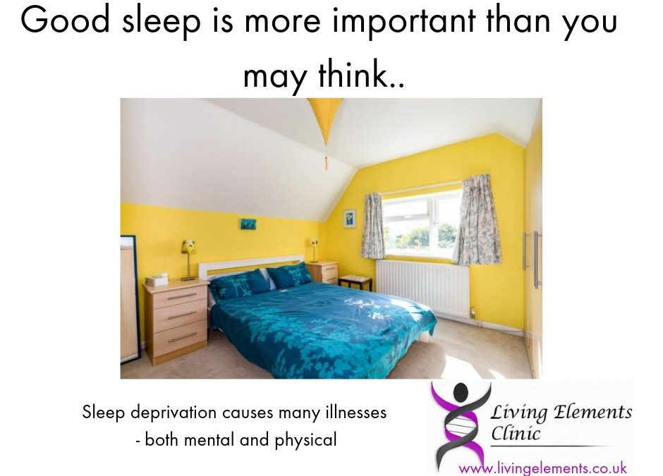 Sleep and rest – it's more important than you think…