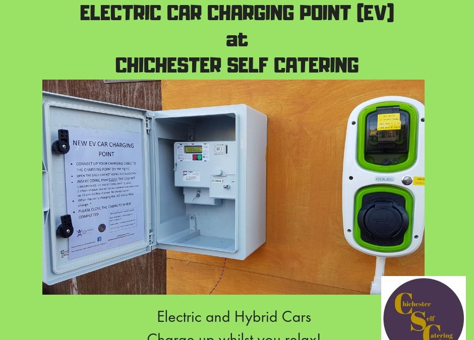 EV (Electric car) charging point is now here!