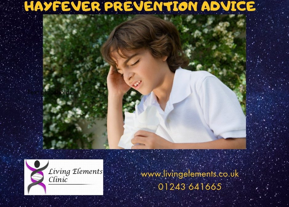 Hayfever – a natural and effective solution for all