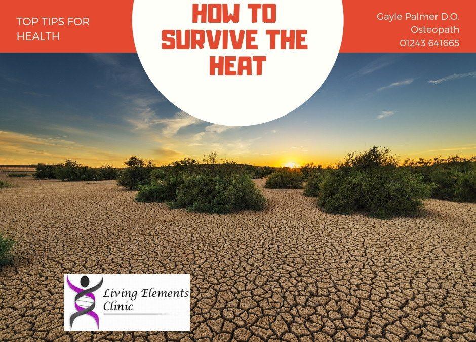 Heat stroke, heart attacks and the avoidance of…