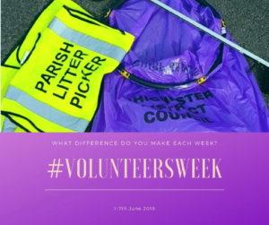Local volunteers Litter pick
