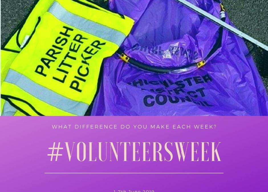 Volunteers Week – 1st-7th June