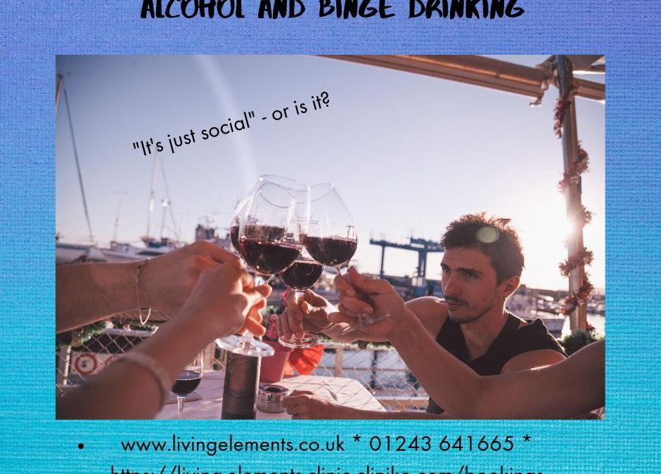 Men's Health Week – Alcohol and Binge Drinking