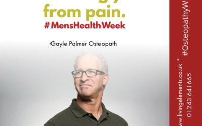 Men!! Don't put up with pain or symptoms – get it sorted!