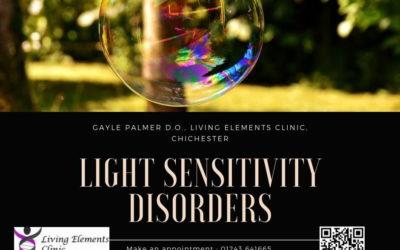 Light Sensitivity Disorders