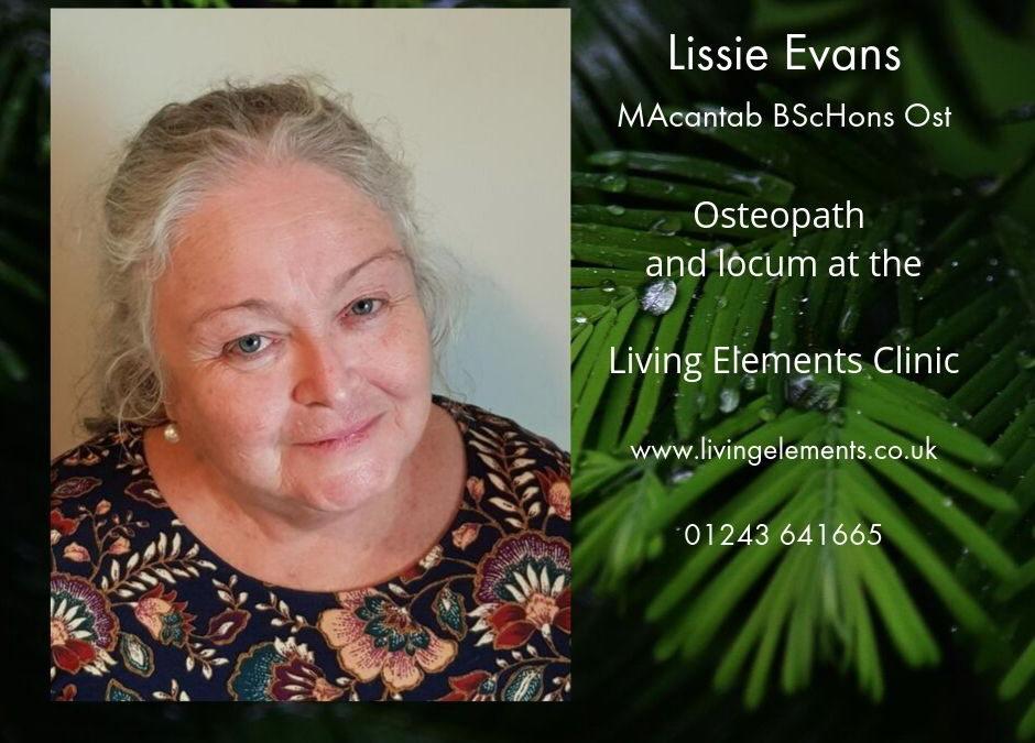 Lissie Evans BScHons Ost