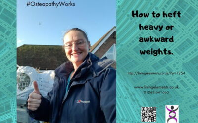 How to heft heavy and awkward objects