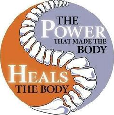 The power that made the body – heals the body