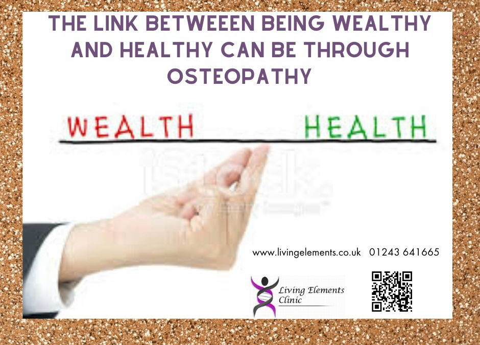 Relationship between Health and Wealth
