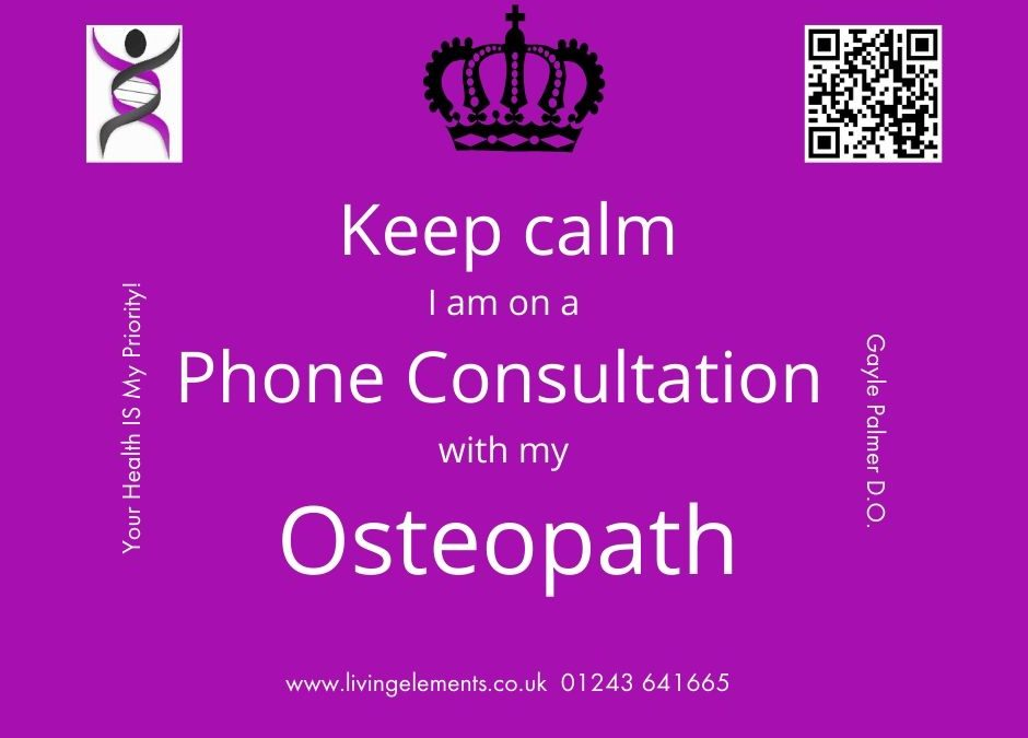 NEW phone consultations available