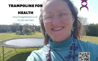 Use your trampoline for health