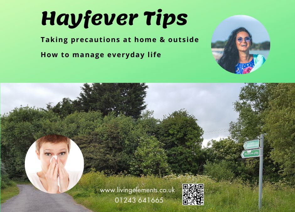 At home actions to reduce your HAYFEVER