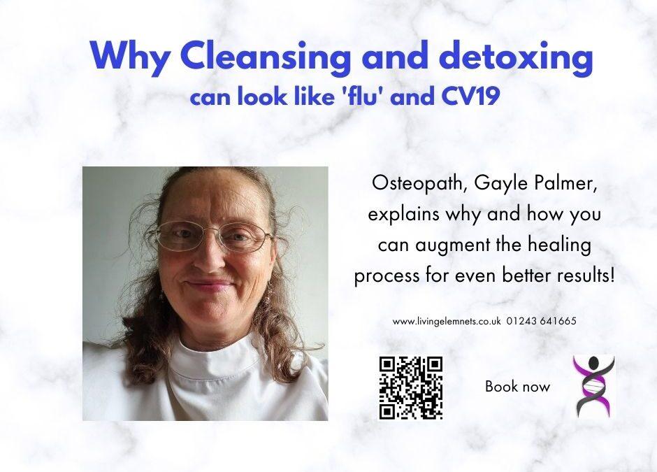 Why do detoxing symptoms look like illness?