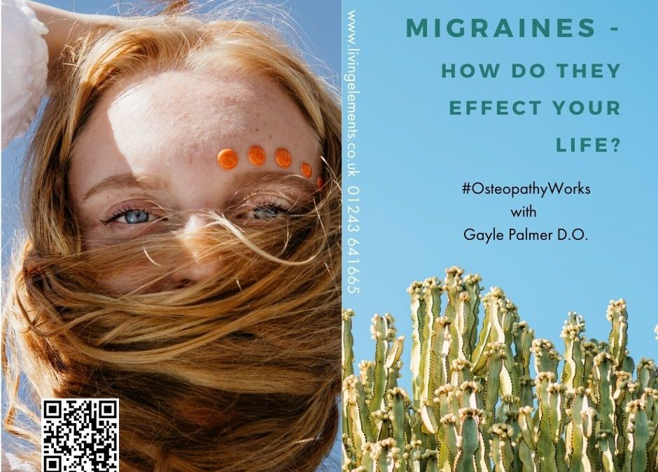 Migraines can disrupt your whole life