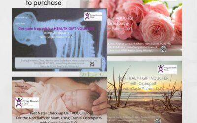 Health Gift Vouchers